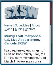 SXSW Official Mobile Site