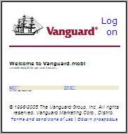Vanguard.mobi - text is unreadable