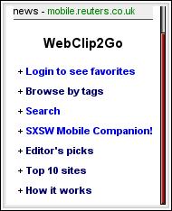 WebClip2Go