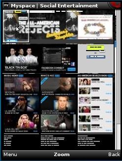 MySpace Full Version in Opera Mini