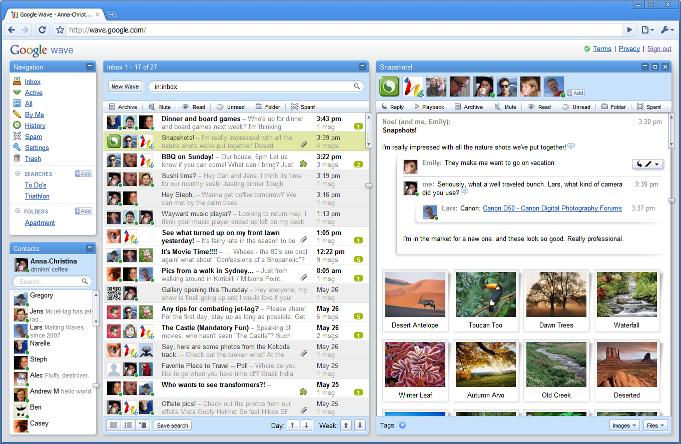Google Wave Inbox