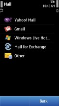 Choose Mail For Exchange