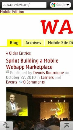 Opera Mini Symbian - Wap Review