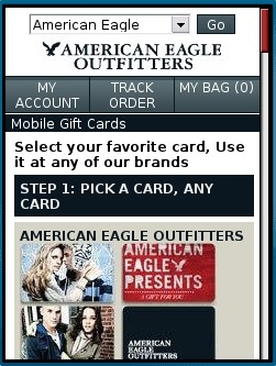 American Eagle Outfitters Mobile