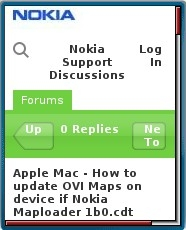 Nokia Support Discussions