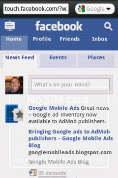 Opera Mini 5.1 New - Facebook