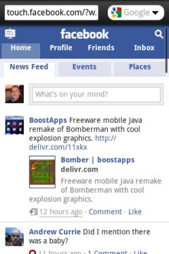 Opera Mini 5.1 Old - Facebook