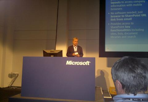 Nokia's Ukko Lappalainen Presents at Tech.Ed 2010