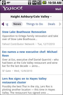 Yahoo Local Beta - Headlines