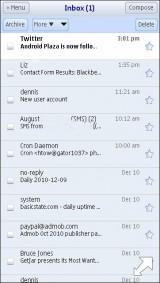 iPhone Gmail
