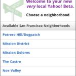 Yahoo Local Beta - Select Neighborhood