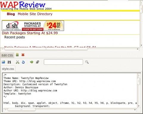 FireFox Web Developer - Edit CSS