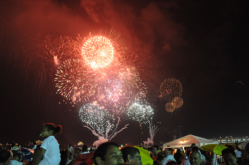 New Years Fireworks Rio by over_kind_man - Some rights reserved
