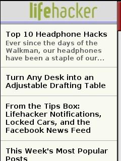 Lifehacker Mobile
