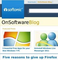 Softonic Desktop