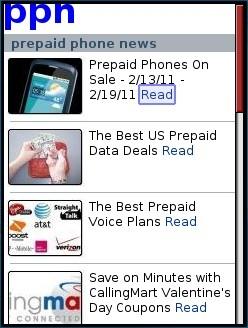 prepaid phone news - Blogger Mobile