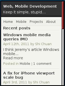 Web, Mobile Development