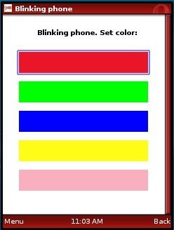 Blinking Phone