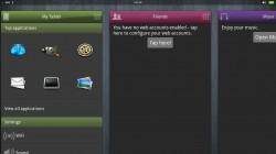MeeGo Tablet OS - Panels UI