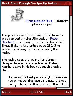 Pizza Recipe 101