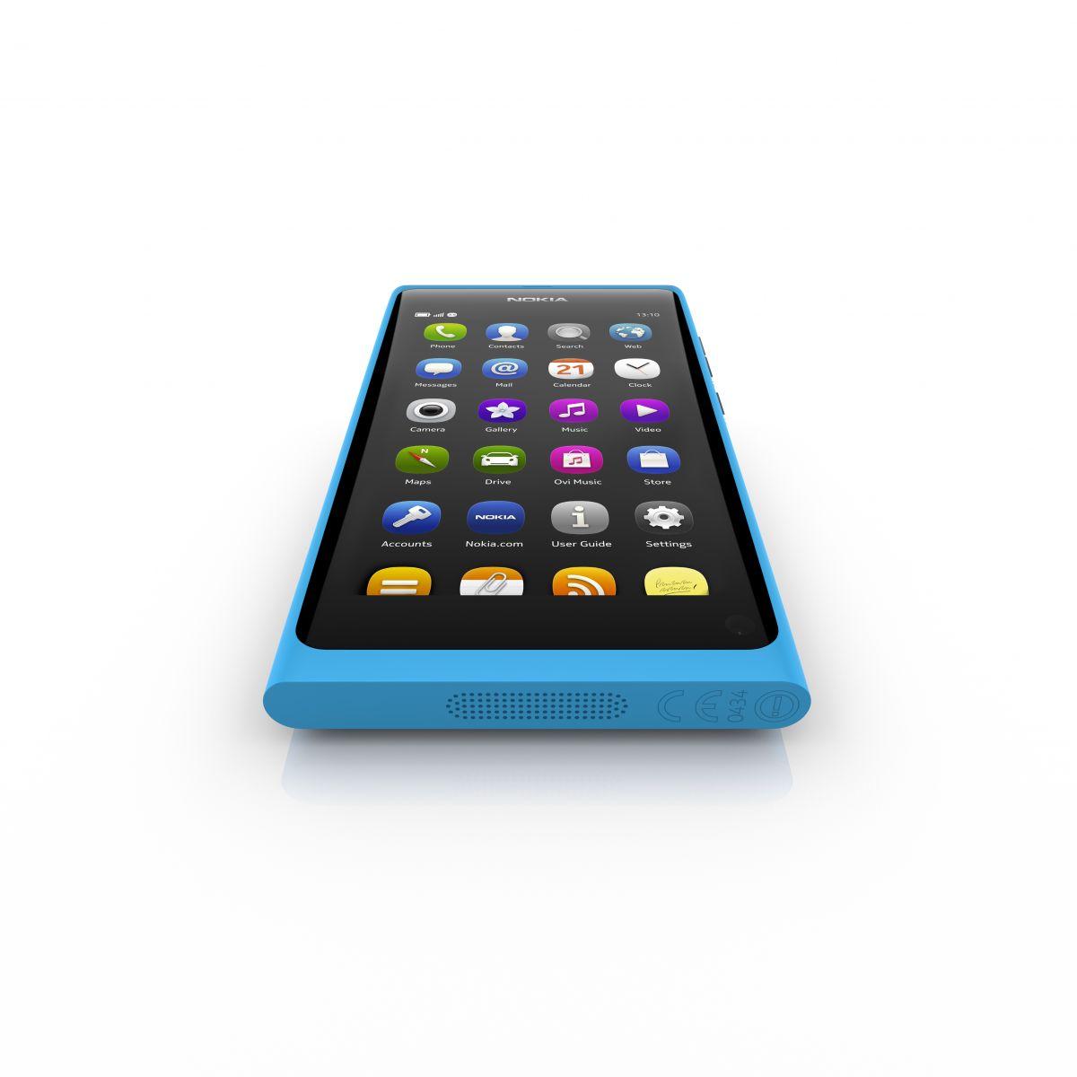 Nokia N9 - Bottom View