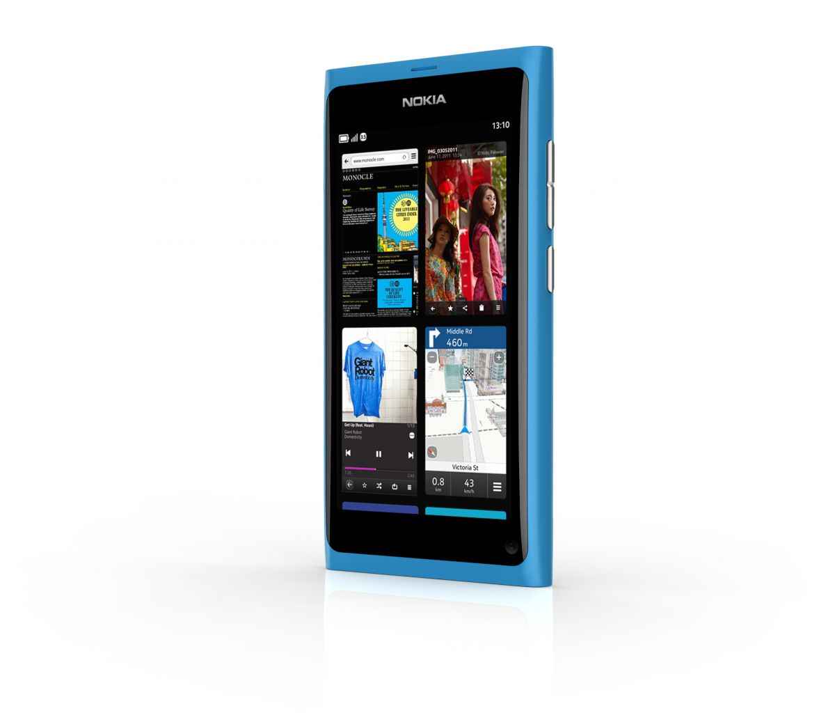 Nokia N9 - Another View of the Task Switcher