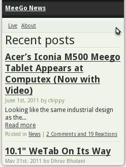 MeeGo News