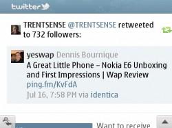 Nokia E6 Opera Mini 6.1 Gmail Basic HTML