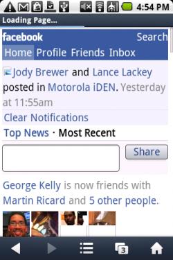 UC 7.8 Facebook Mobile - Nokia E6