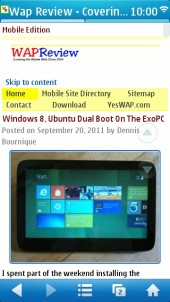 UC Browser 7.9 Symbian - WapReview Full Site