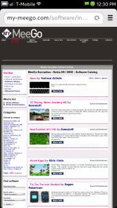 My-MeeGo.com Harmattan Software Catalog