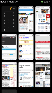 Nokia N9 - Webapps On the Running Apps Homescreen