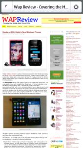 Nokia N9 Firefox Mobile - WapReview