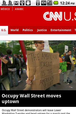 Opera Mobile 11.5 CNN