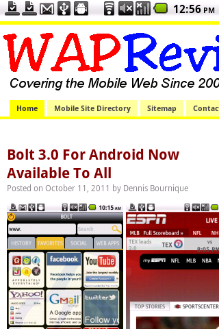 Opera Mobile 11.5 WapReview