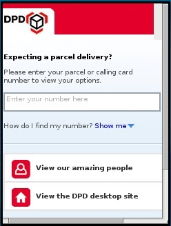 DPD UK Mobile