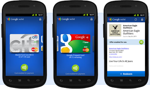 Nexus S and Google Wallet - Image: Google
