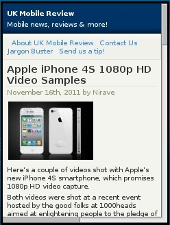 UK Mobile Review