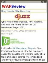 UC Browser 8.0 Java - Wap Review