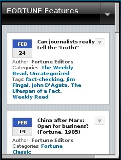 Fortune Features Blog