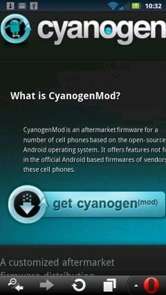 Opera Mini 7.0 Android - CyanogenMod.com