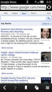 Google News Touch