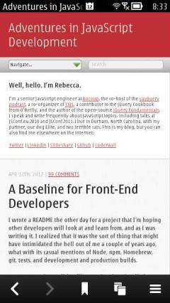 Adventures in JavaScript Development