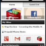 Opera Mini 7 Java Smart Page - MySites