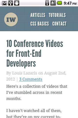 Impressive Webs Home Page