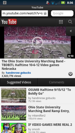 Opera Mobile 12.1 Android - YouTube