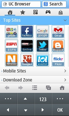 opera mini app download java phoneky
