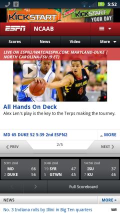 ESPN NCAA Basketball