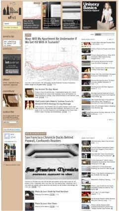 SFist.com in Chrome PC Browser