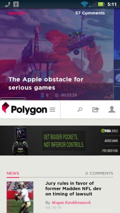 Polygon Homepage